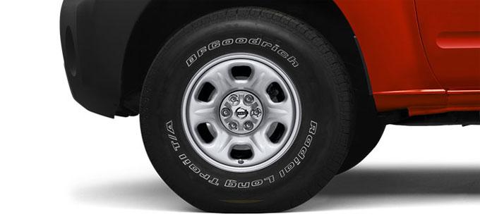 16 inch steel wheels