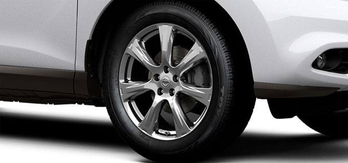 20 inch aluminum-alloy wheels