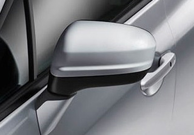 Folding Power Side Mirrors, Including Expanded Driver's Side Mirror