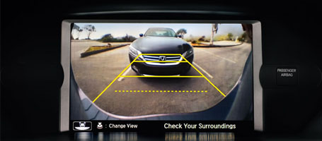 Multi-Angle Rearview Camera with Guidelines