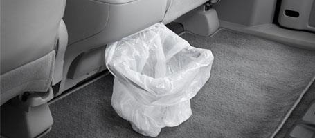 Removable Trash Ring Bag