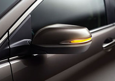 Side Mirrors with Integrated Turn Indicator