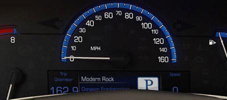 Reconfigurable Driver Information Center