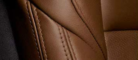 Cut-and-sewn interiors