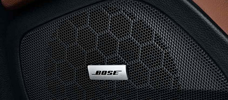 Bose premium audio systems