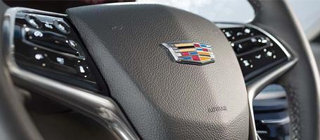 Thick Rim Steering Wheel