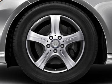 17-inch split 5-spoke wheels