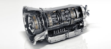7-speed automatic transmission with shift paddles