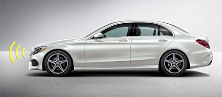 2016 Mercedes-Benz C-Class Sedan Collision Prevention Assist Plus