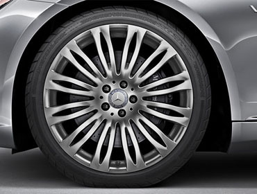 20-inch multispoke alloy wheels