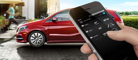 My Mercedes Electric Vehicle Homepage
