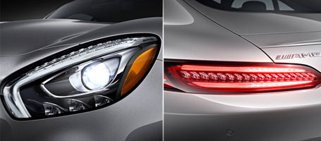 LED Daytime Running Lamps And Taillamps