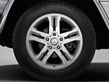 18-inch twin 5-spoke alloy wheels