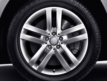 19-inch Twin 5-Spoke Wheels