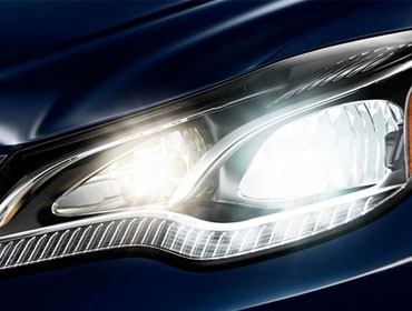 LED Headlamps And Daytime Running Lamps
