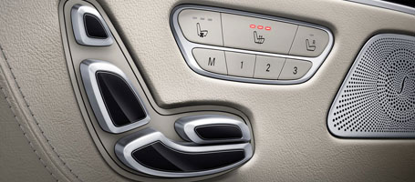 Heated 16-Way Power Front Seats With Memory