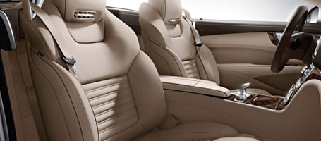2016 Mercedes-Benz SL Roadster Sun-Reflecting Leather Upholstery