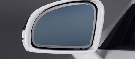 Heated Power Side Mirrors With Power Fold-In