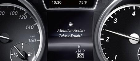 2016 Mercedes-Benz GL SUV ATTENTION ASSIST®