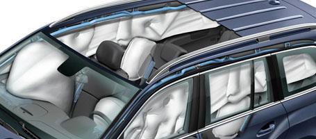 2016 Mercedes-Benz GL SUV 11-Way Air Bag Protection