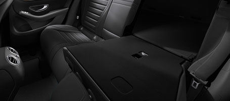 40/20/40-Split Rear Seats With Power Folding