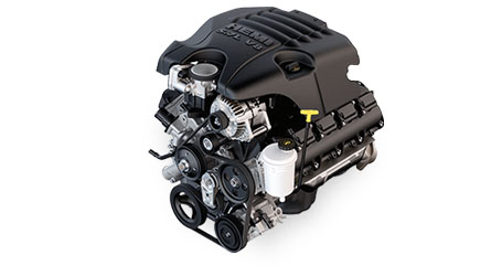 5.7L HEMI® V8 ENGINE WITH VARIABLE VALVE TIMING