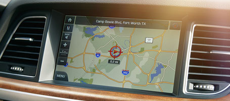 High-Definition Screen With Premium Navigation