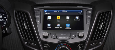 Class-leading Multimedia Touchscreen
