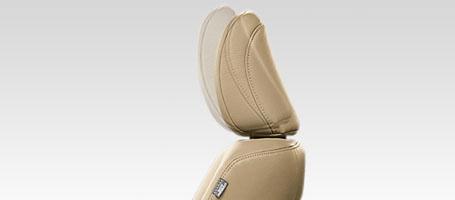 Active front headrests