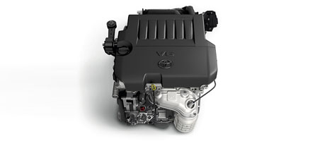 268-hp V6 engine
