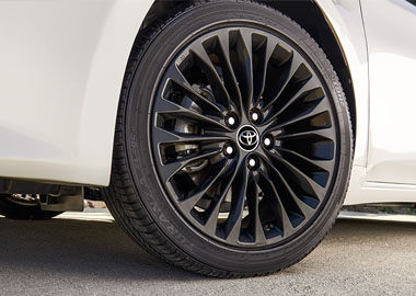 Available 18-in. alloy wheels