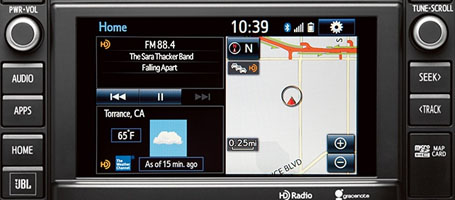 Entune™ Integrated Navigation