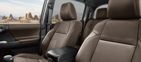 A tougher, more refined interior