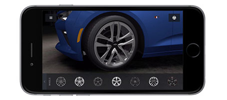 The Camaro SIX App