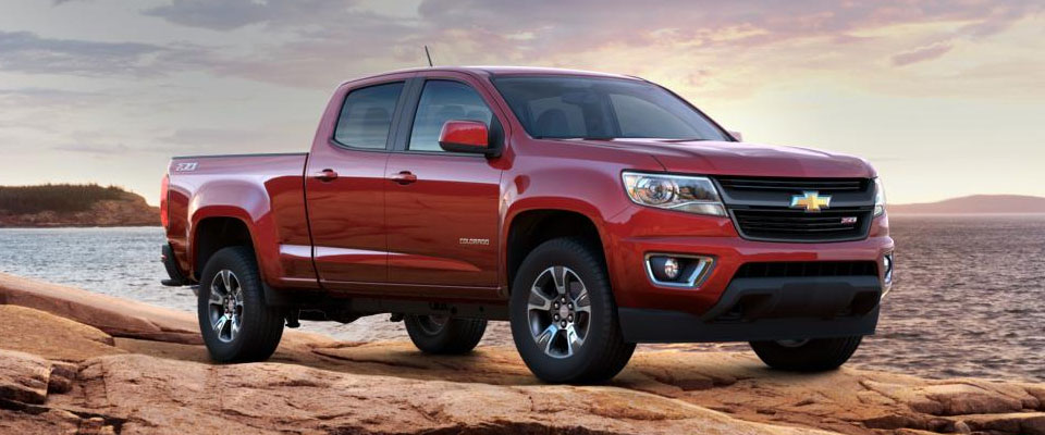 2017 Chevy Colorado Overview Image