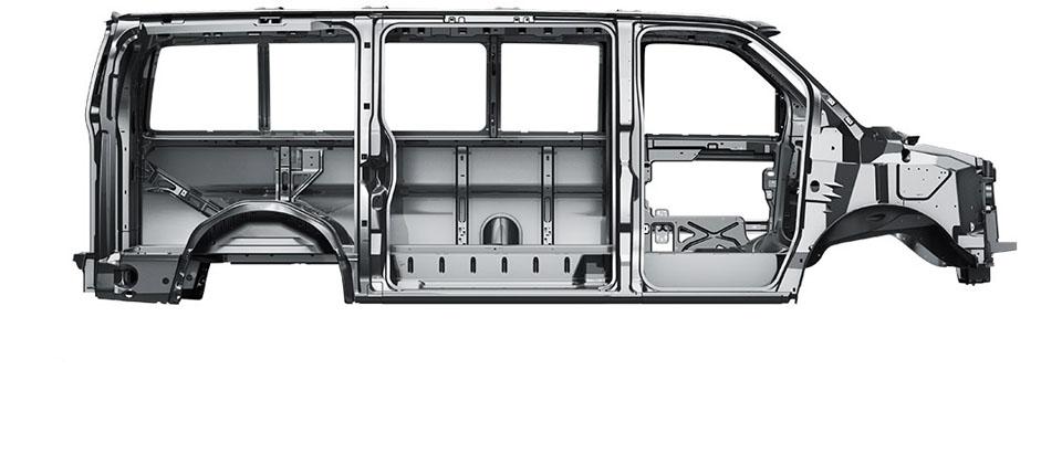 2017 Chevy Express Cargo Safety Main Image
