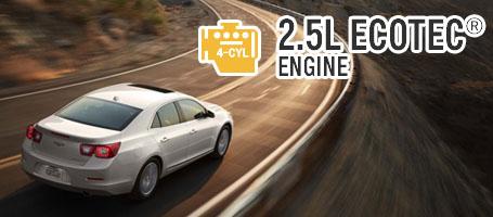 ECOTEC 2.5L DOHC 4-cylinder Engine