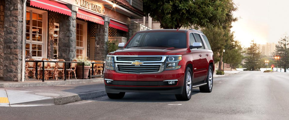 2017 Chevy Tahoe Appearance Image