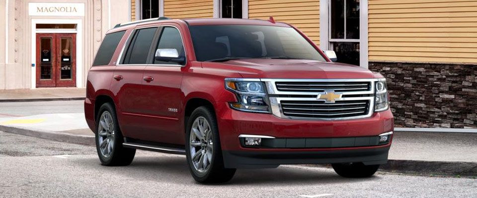 2017 Chevy Tahoe Overview Image