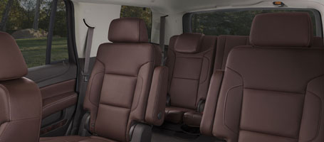 Multiple SUV seating configurations