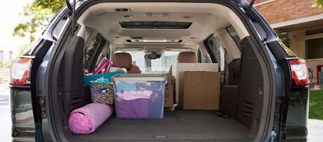 SUV class-leading cargo space