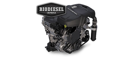 AVAILABLE 3.0L ECODIESEL V6 ENGINE