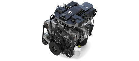 AVAILABLE 6.7L CUMMINS® TURBO DIESEL ENGINE