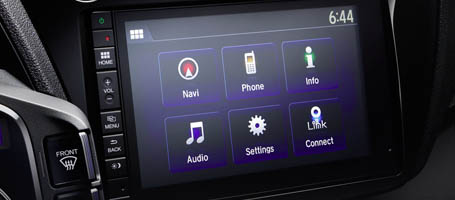 7-Inch Display Audio Touch-Screen