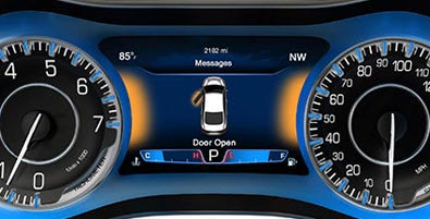 7-INCH CUSTOMIZABLE DRIVER INFORMATION DISPLAY