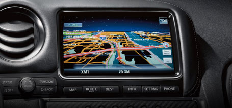 Nissan Hard Drive Navigation System