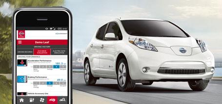 NissanConnect<sup>SM</sup> EV Information System