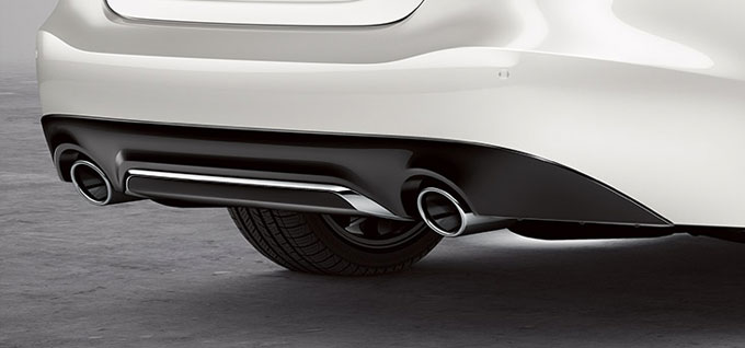 Chrome-Tipped Exhaust Finishers