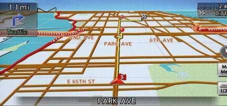 Nissan Navigation System