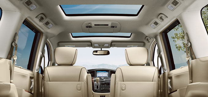 Dual Opening Glass Moonroof